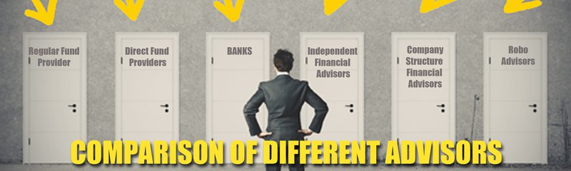 Comparison of different Financial Advisors